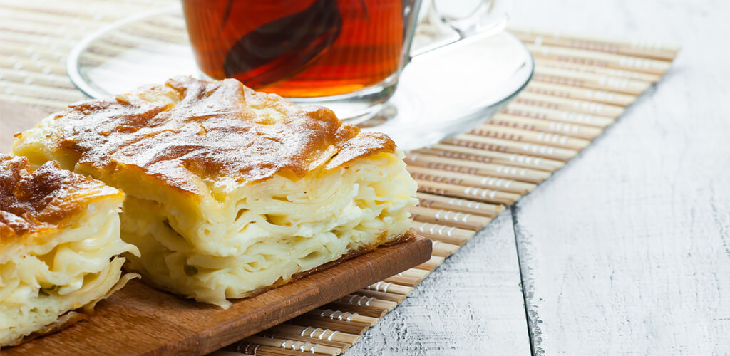 Kabaklı Tulum Peynirli Börek